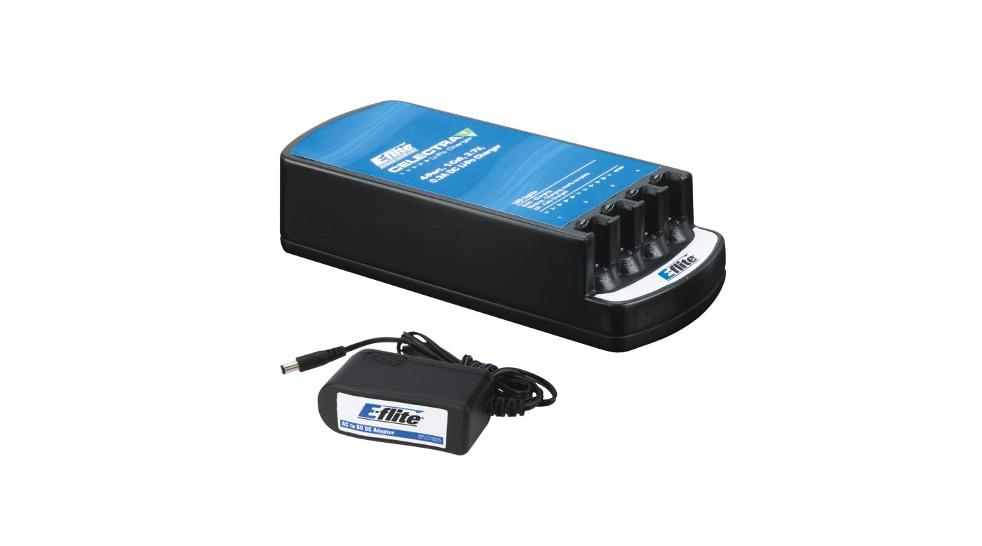Image for Celectra 4-Port Charger with AC Adapter Combo from HorizonHobby