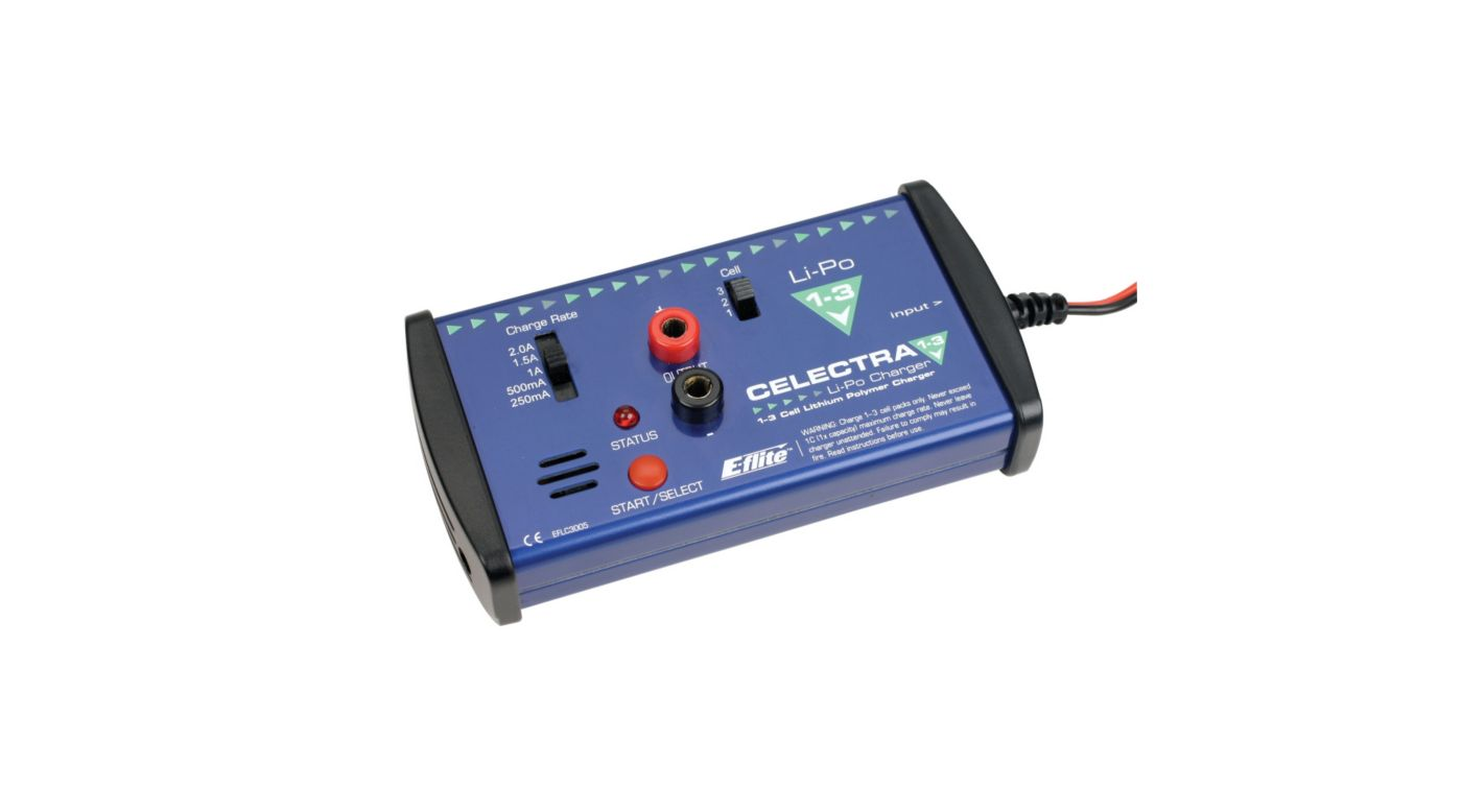 Image for Celectra 1-3 Cell LiPo DC Charger from HorizonHobby