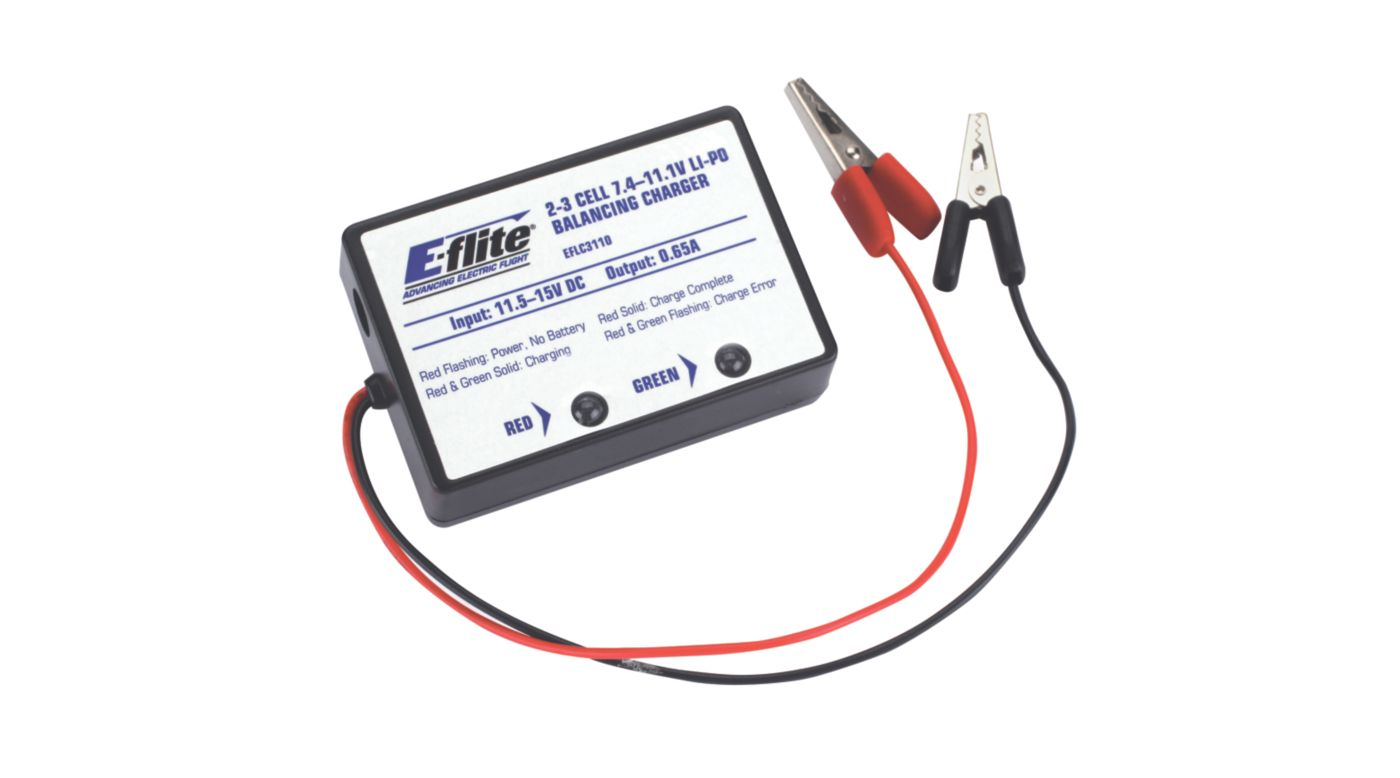 Image for 2-3 Cell LiPo Balancing Charger, 0.65A from HorizonHobby