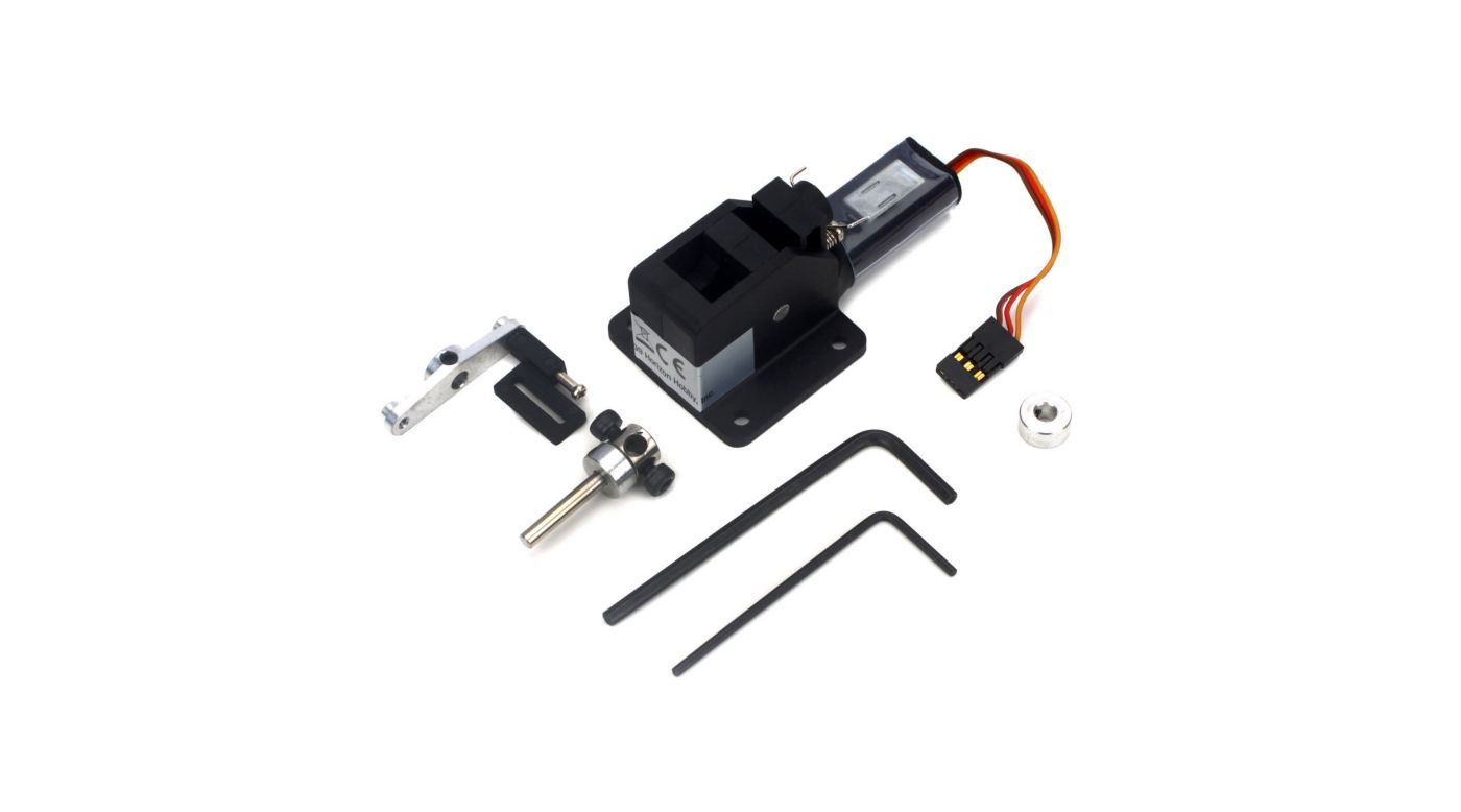 Image for 15 - 25 90-Degree Nose Electric Retract Unit from HorizonHobby