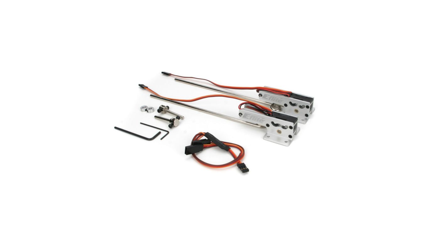 Image for 25 - 46 85-Degree Main Electric Retracts from HorizonHobby