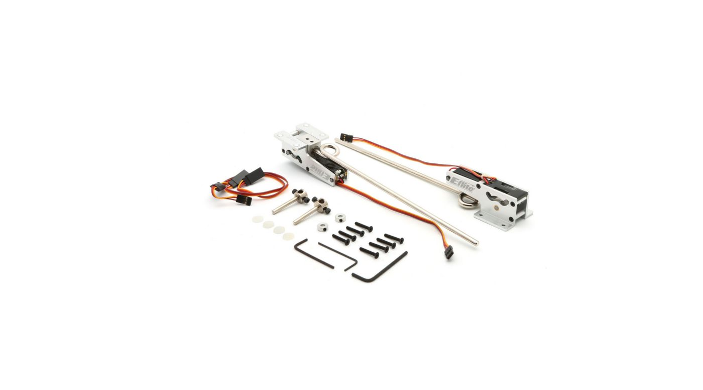 Image for 60 - 120 90-Degree Strut Ready Main Electric Retract from HorizonHobby