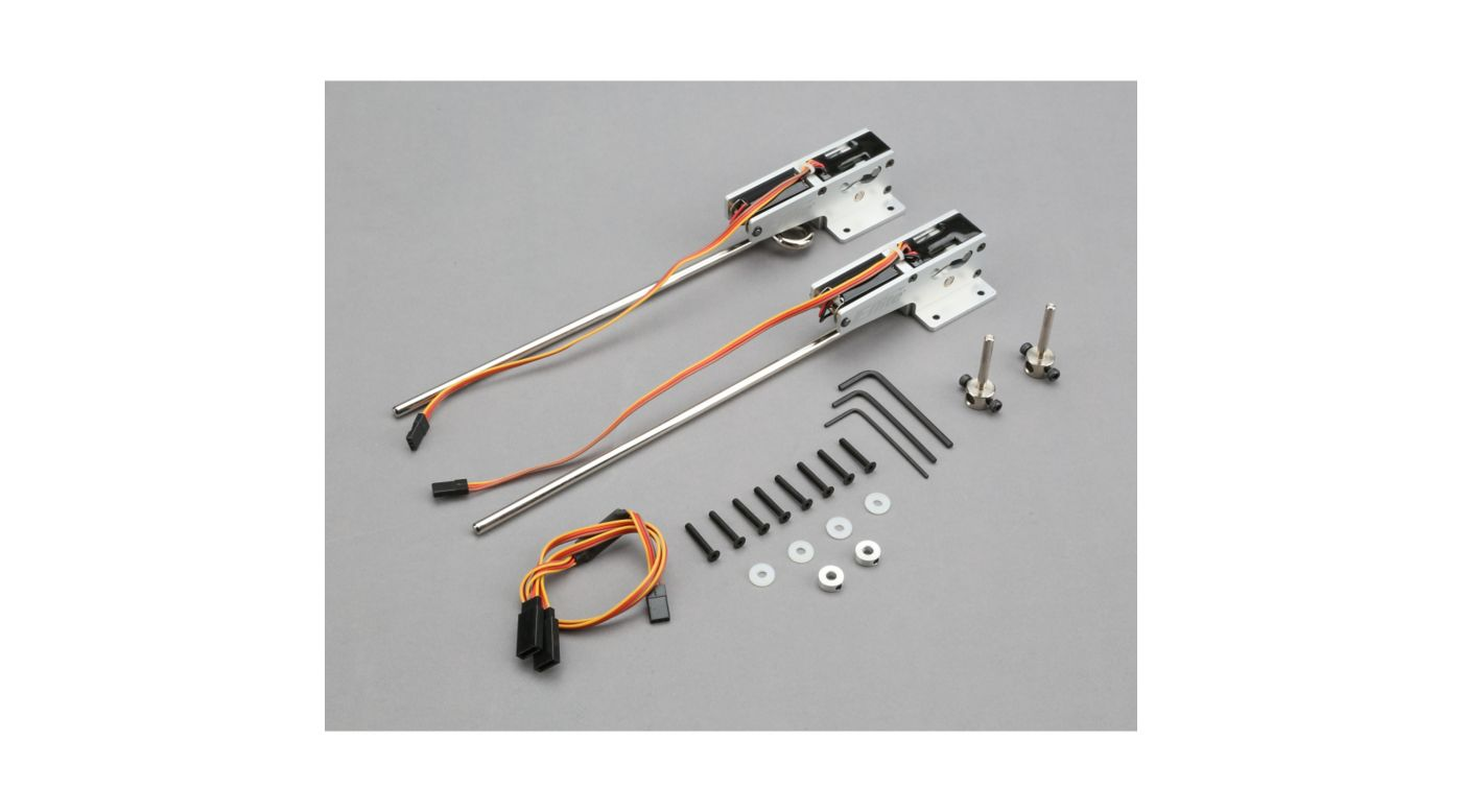 Image for 60 - 120 85-Degree Strut Ready Main Electric Retract from HorizonHobby
