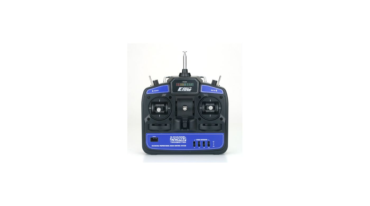 Image for 6-Channel CCPM Pro Transmitter FM 72MHz: BCPP from HorizonHobby