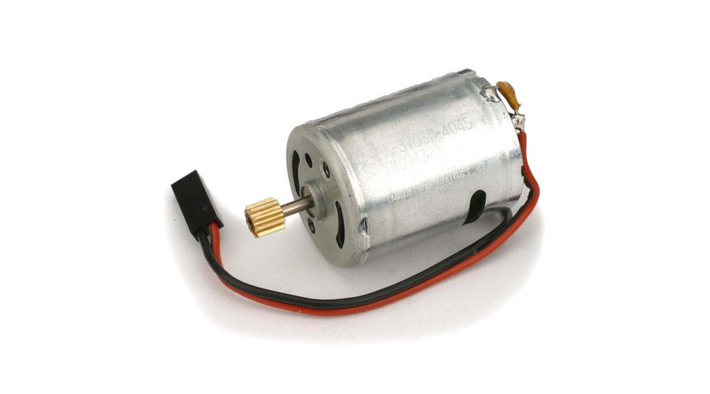 Image for 370 Motor with 9T 0.5M Pinion: BCP, BCPP from HorizonHobby