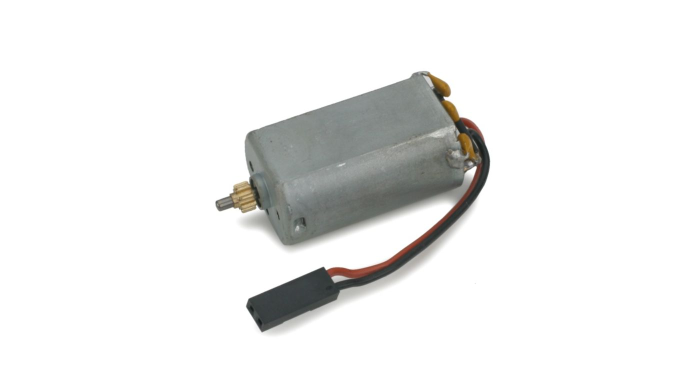 Image for 180 Motor with 8 Tooth 0.5M Pinion Left: BCX/2/3 from HorizonHobby