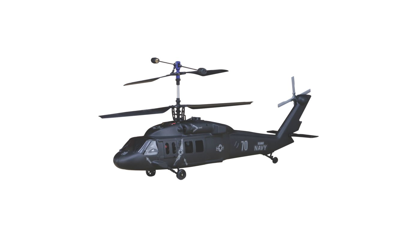 Image for SH-60 SEAHAWK Body Set, Black: BCX/2/3 from HorizonHobby