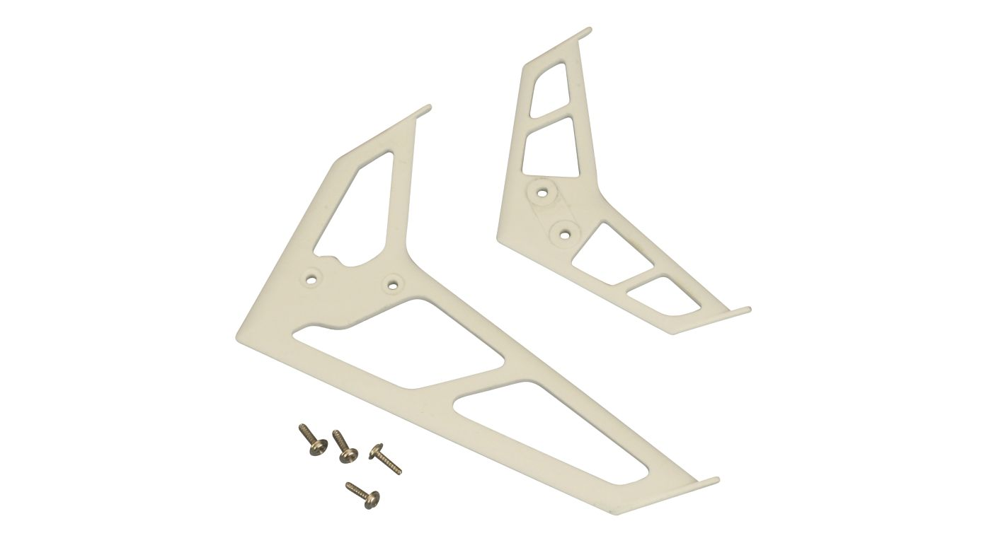 Image for Stabilizer/Fin Set, White: BCPP2 BSR from HorizonHobby