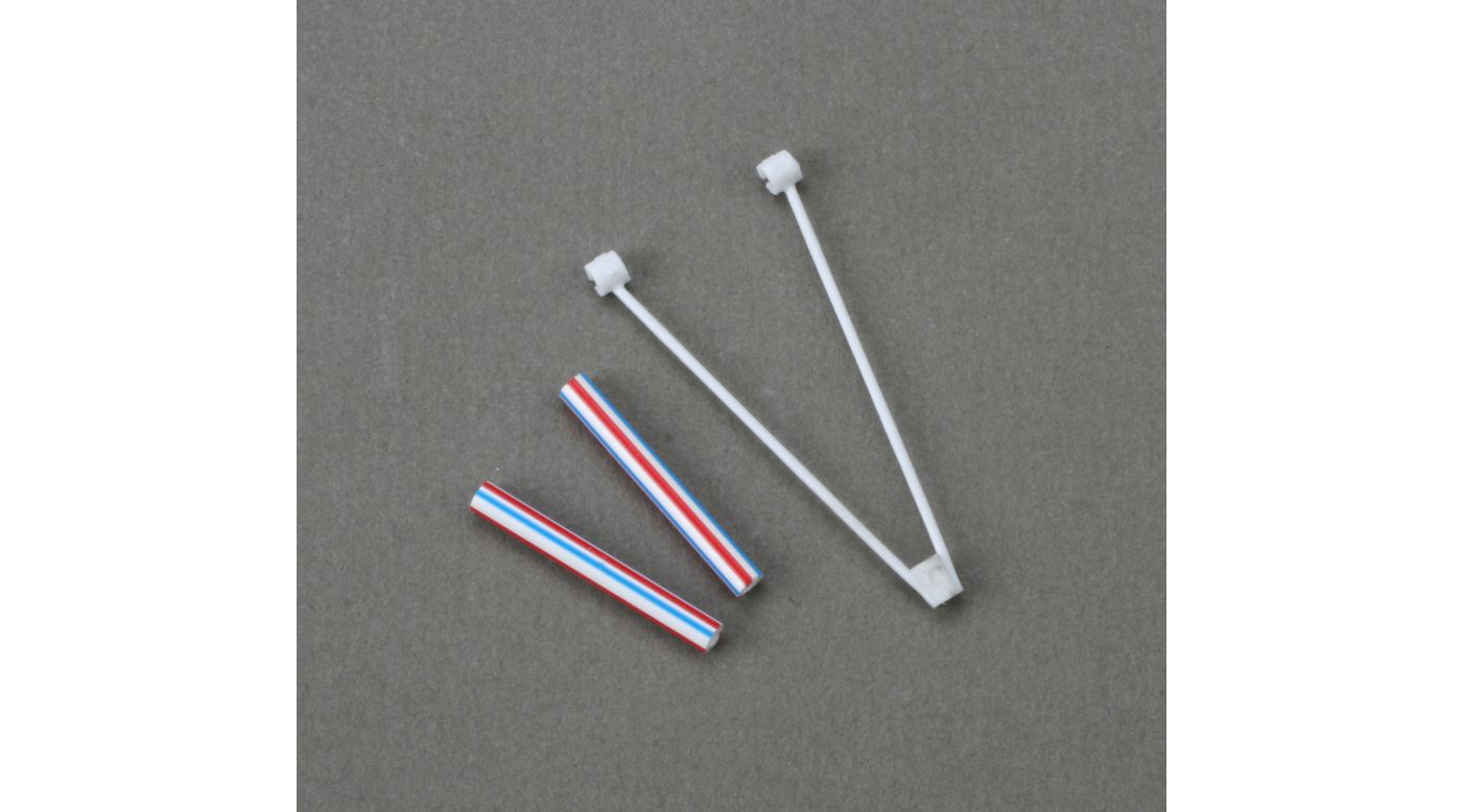 Image for S300 Tail Boom Accent Set: BMCX from HorizonHobby