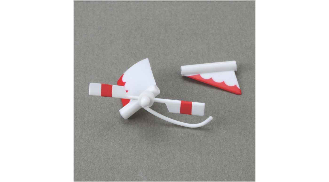 Image for S300 Tail Rotor and Fin Set: BMCX from HorizonHobby