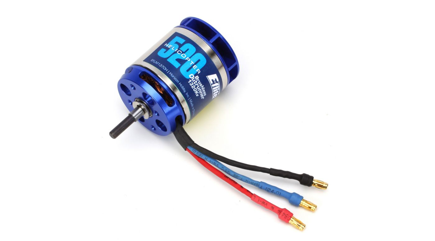 Image for 520H Helicopter Motor, 1320Kv from HorizonHobby
