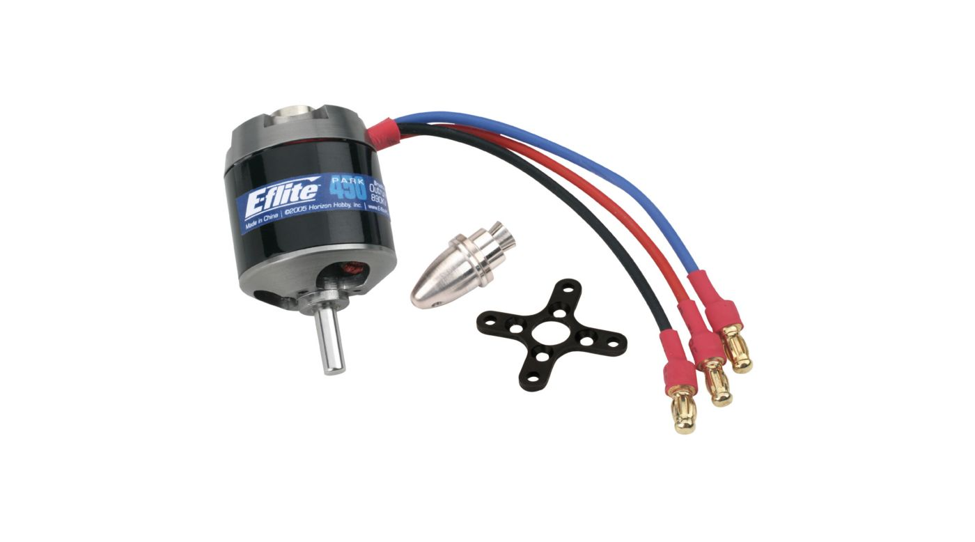 Image for Park 450 Brushless Outrunner Motor, 890Kv from HorizonHobby