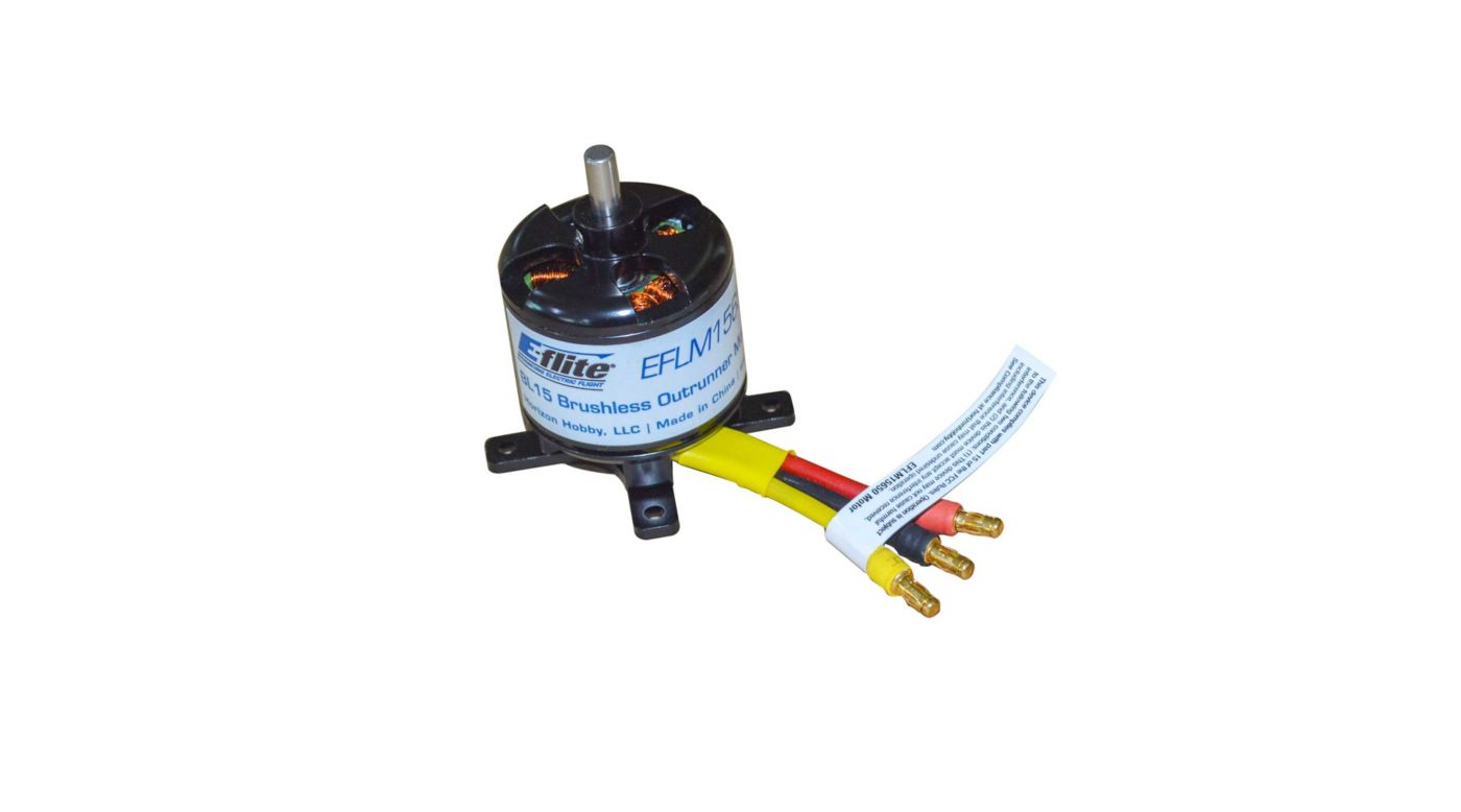 Image for BL15 Brushless Outrunner Motor 650Kv with X mount from HorizonHobby