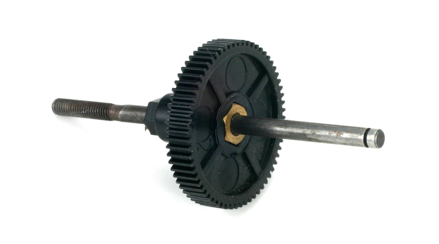 Image for Spur Gear (V2),64T 0.4 Module with Shaft from HorizonHobby
