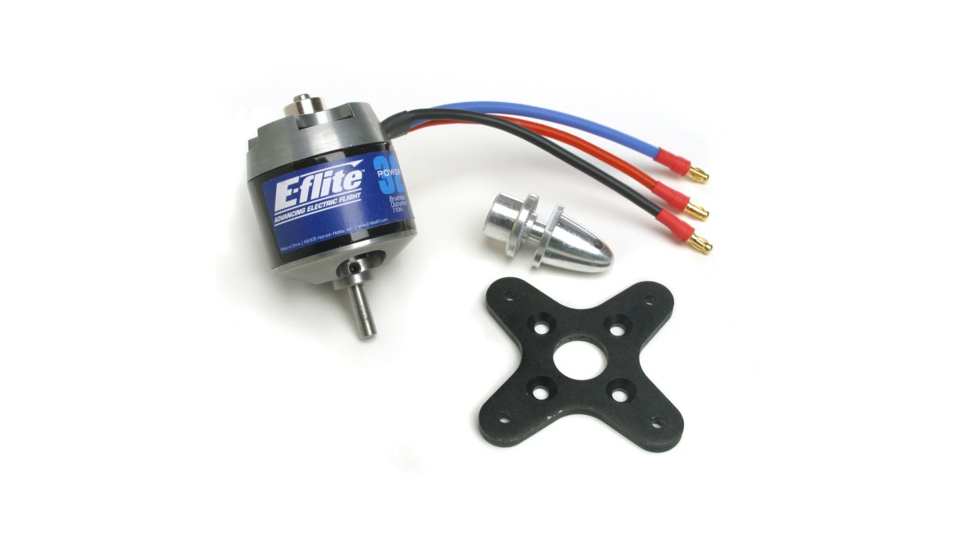 Power 32 Brushless Outrunner Motor 770kv Horizonhobby