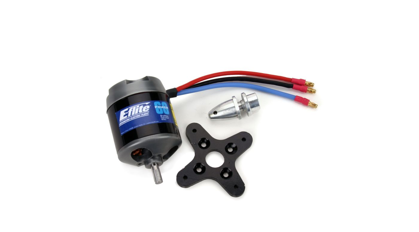 Image for Power 60 Brushless Outrunner Motor, 400Kv from HorizonHobby
