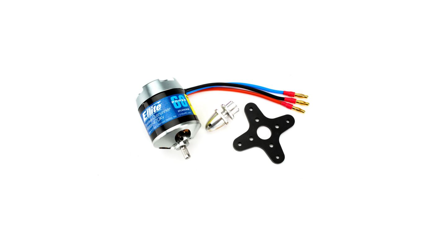 Image for Power 60 Brushless Outrunner Motor, 470Kv from HorizonHobby