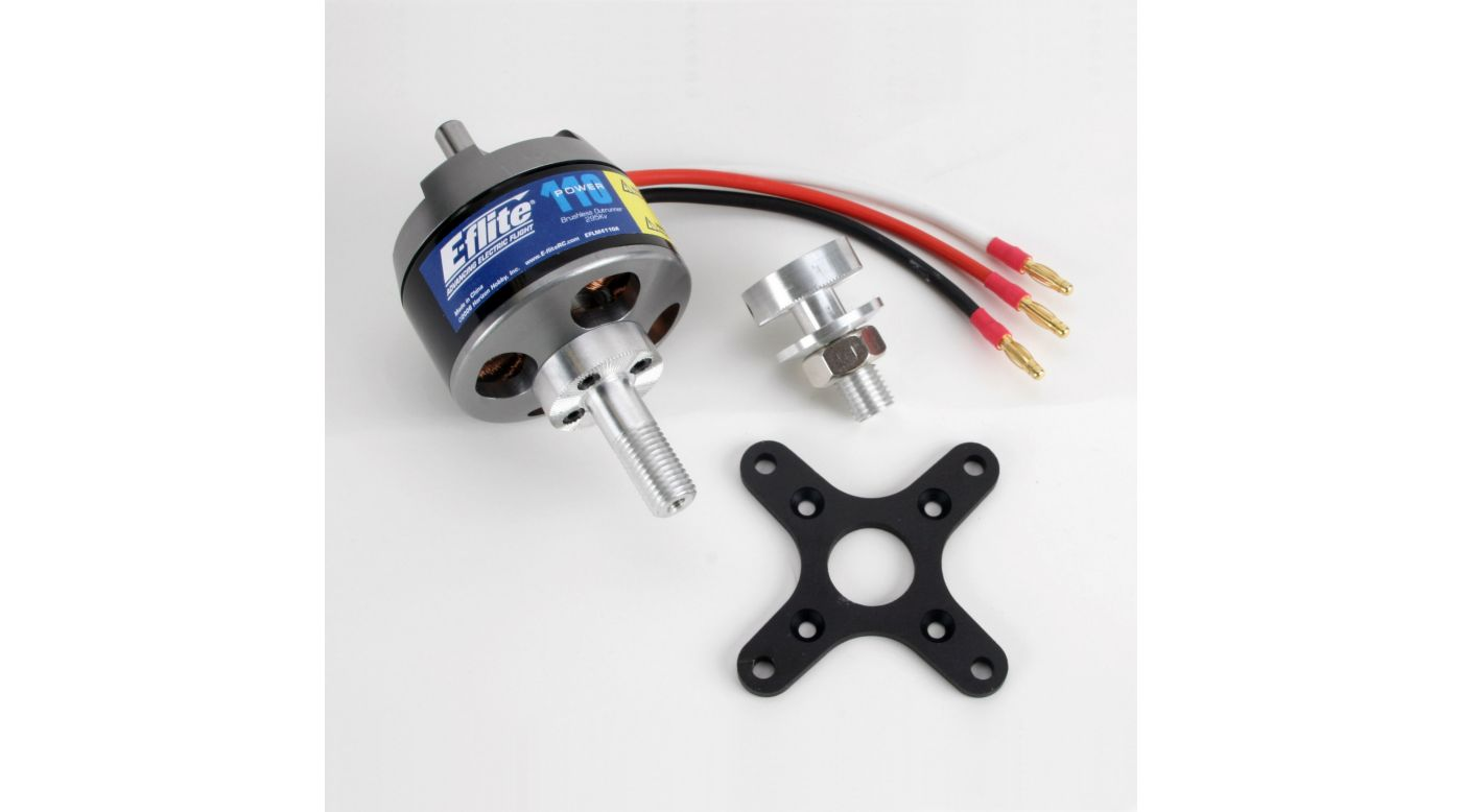 Image for Power 110 Brushless Outrunner Motor, 295Kv from HorizonHobby