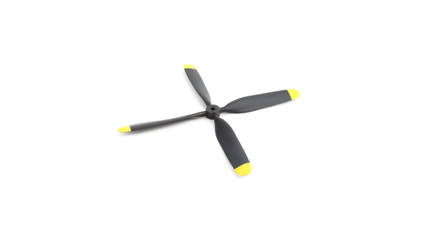 Image for Propeller, 4 Blade, 10.5x8: P-51D 1.2m from HorizonHobby