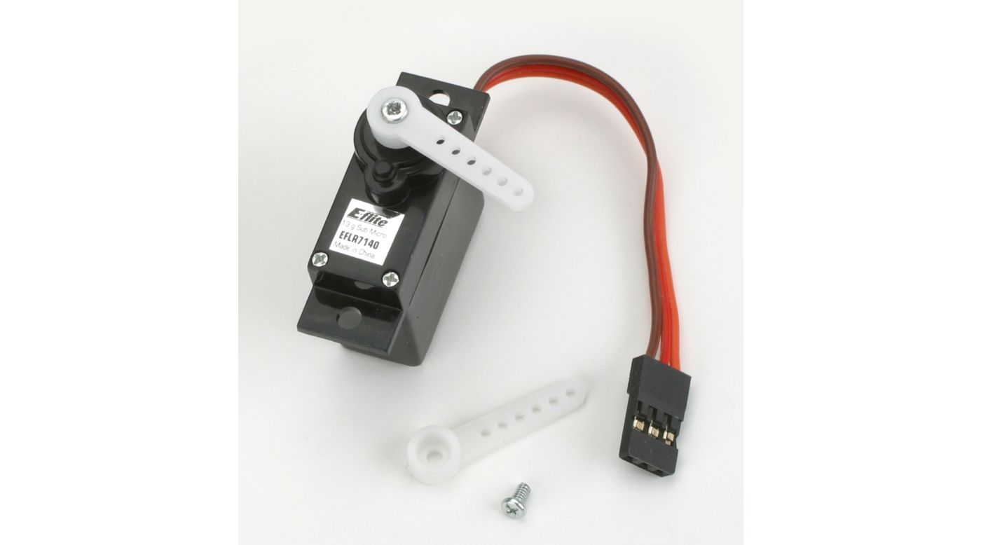 Image for 13g Sub Micro Metal Gear Servo from HorizonHobby