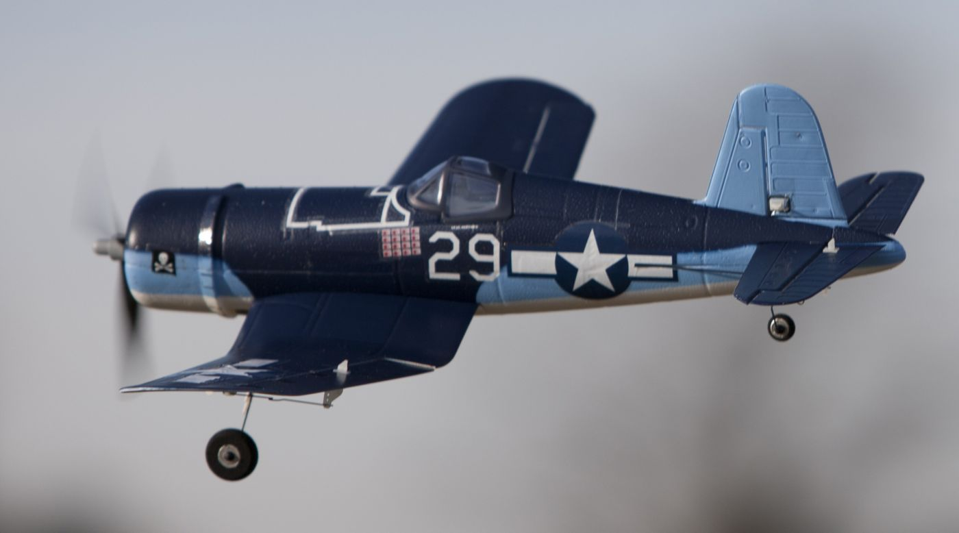 Image for UMX™ F4U Corsair RTF with AS3X® Technology from HorizonHobby