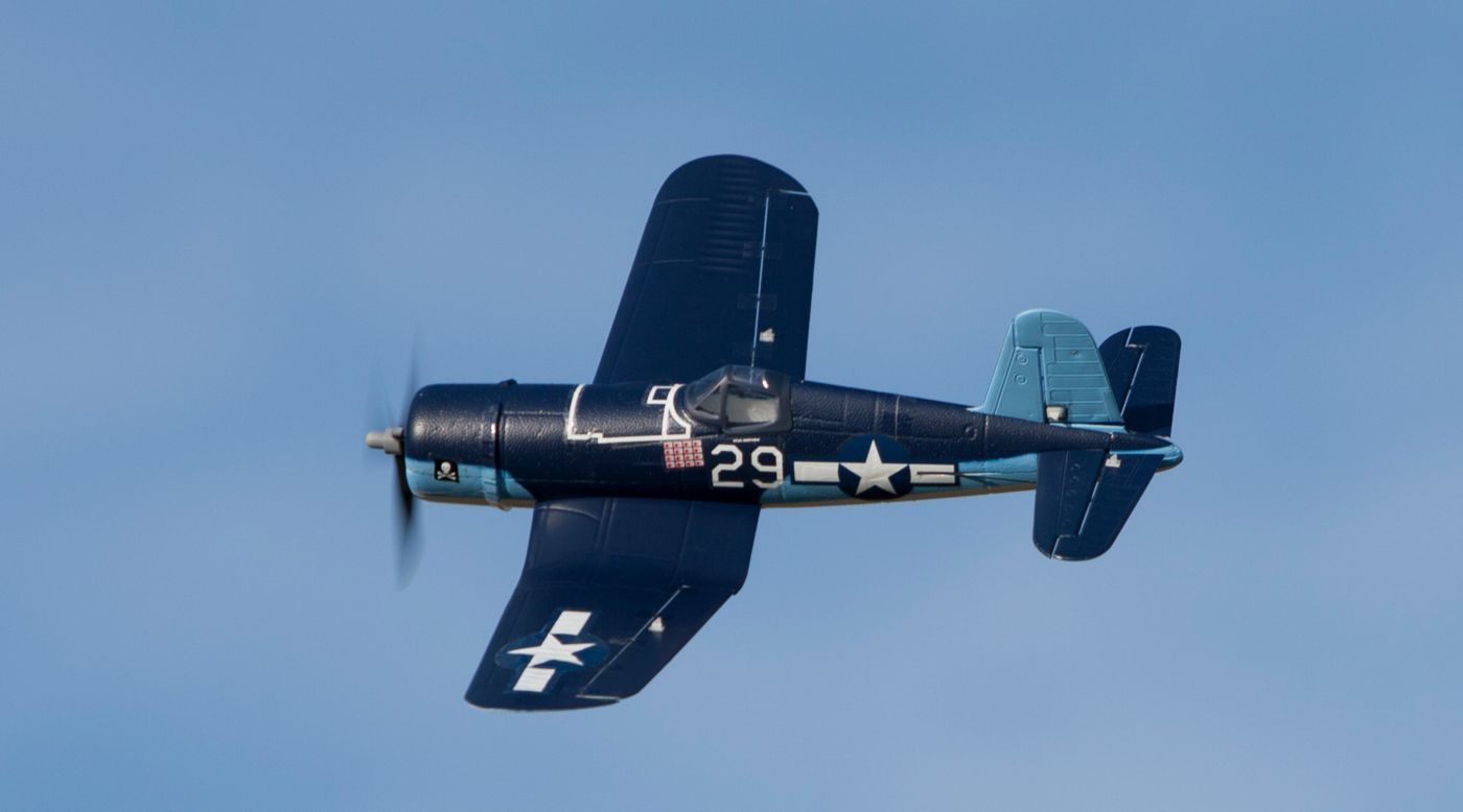 Image for UMX™ F4U Corsair BNF with AS3X®, 405mm from HorizonHobby