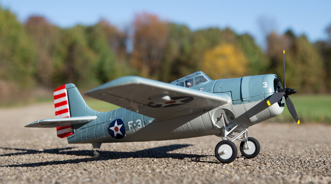 Image for UMX F4F Wildcat BNF Basic from HorizonHobby