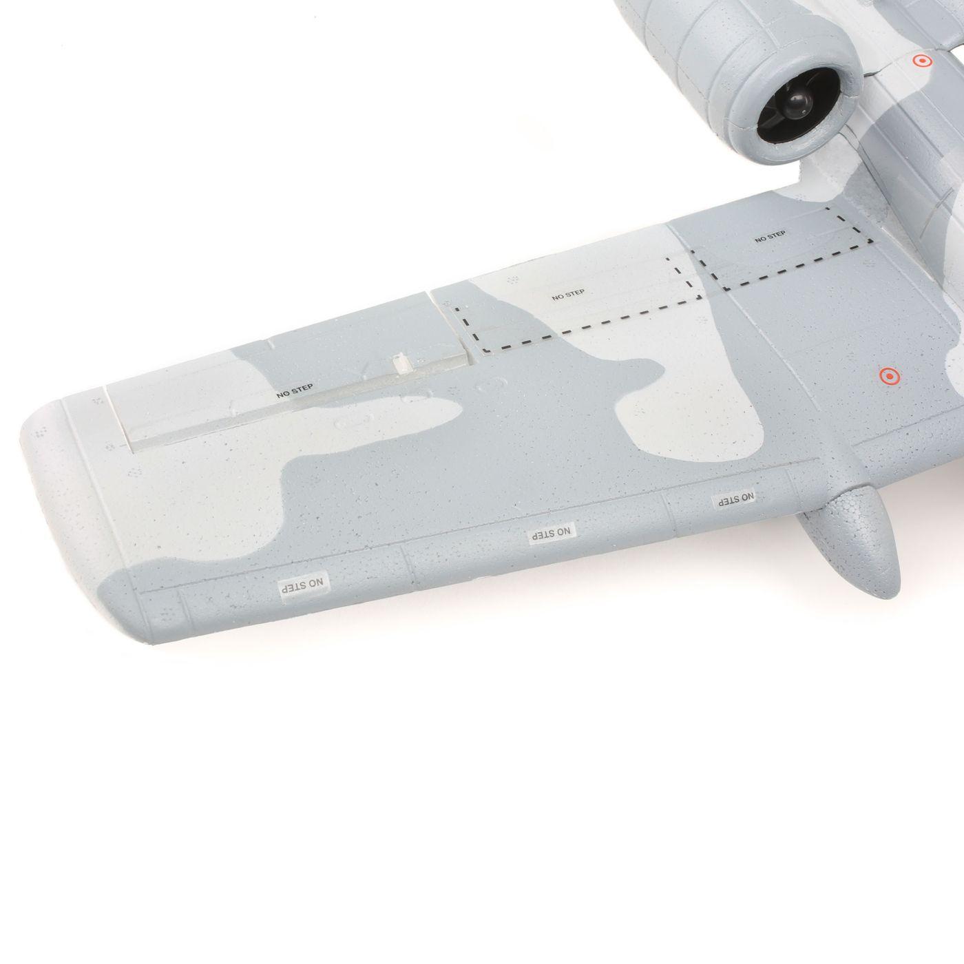 UMX A-10 BL BNF Basic 28mm EDF Jet with AS3X | HorizonHobby