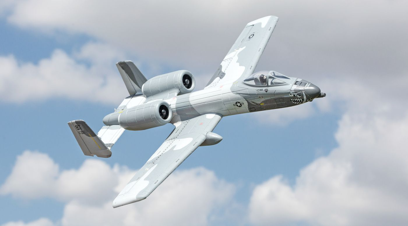 Image for UMX A-10 BL BNF Basic 28mm EDF Jet with AS3X from HorizonHobby