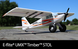 E-flite UMX Timber STOL BNF Basic