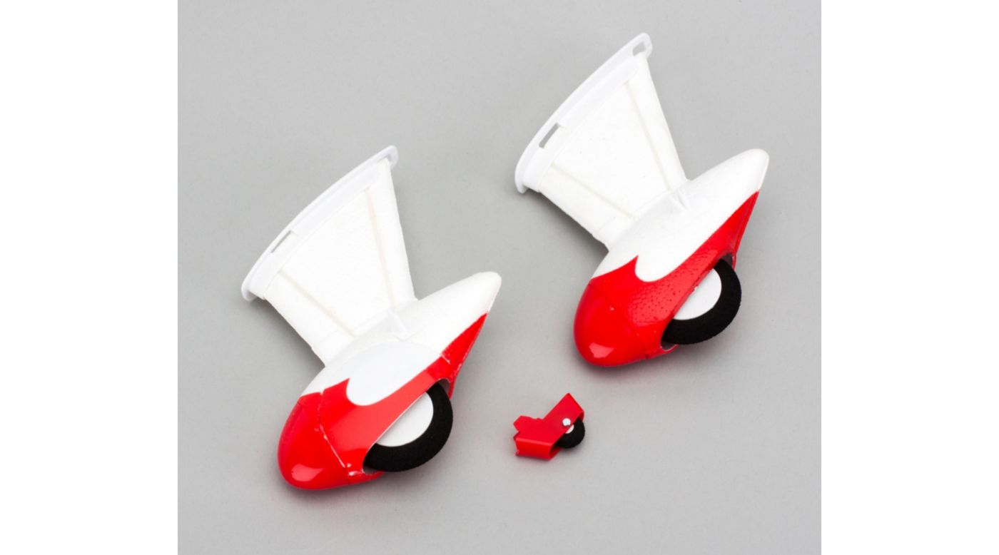 Image for Landing Gear and Tail Wheel Set: UMX Gee Bee R2 from HorizonHobby