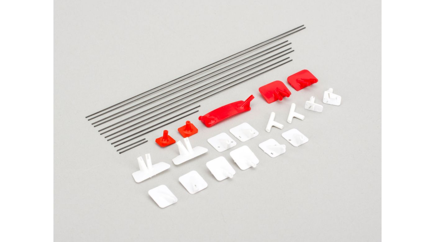 Image for Wing Struts with Mounting Hardware: UMX Gee Bee R2 from HorizonHobby