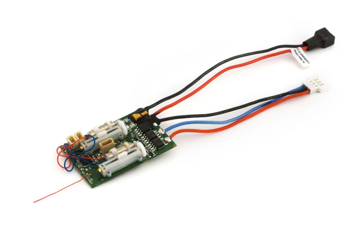 Eflite Receiver Wiring List Of Schematic Circuit Diagram Simplex Fire Alarm Sounder With Flasher Dsm2 6 Ch Ultra Micro As3x Bl Esc Horizonhobby Rh Com