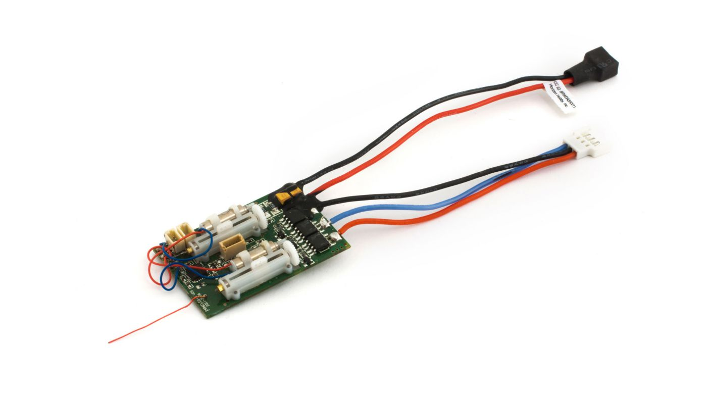 Image for DSM2 6 Ch Ultra Micro AS3X Receiver BL ESC from HorizonHobby