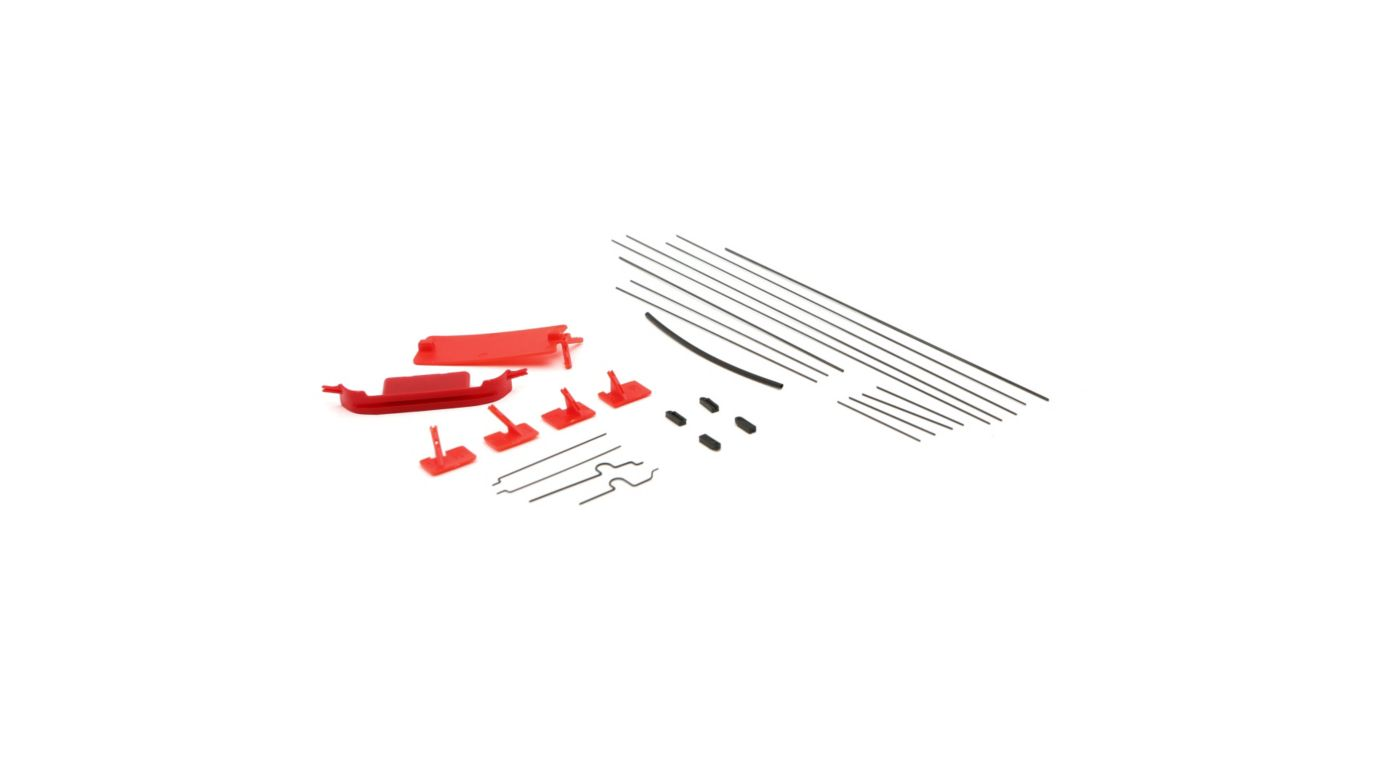 Image for Pushrod/Wing Brace Set: UMX Pitts S-1S from HorizonHobby