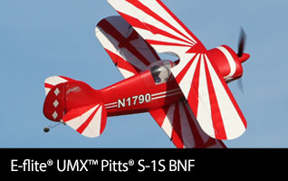 E-flite UMX Pitts S-1S BNF Basic with AS3X