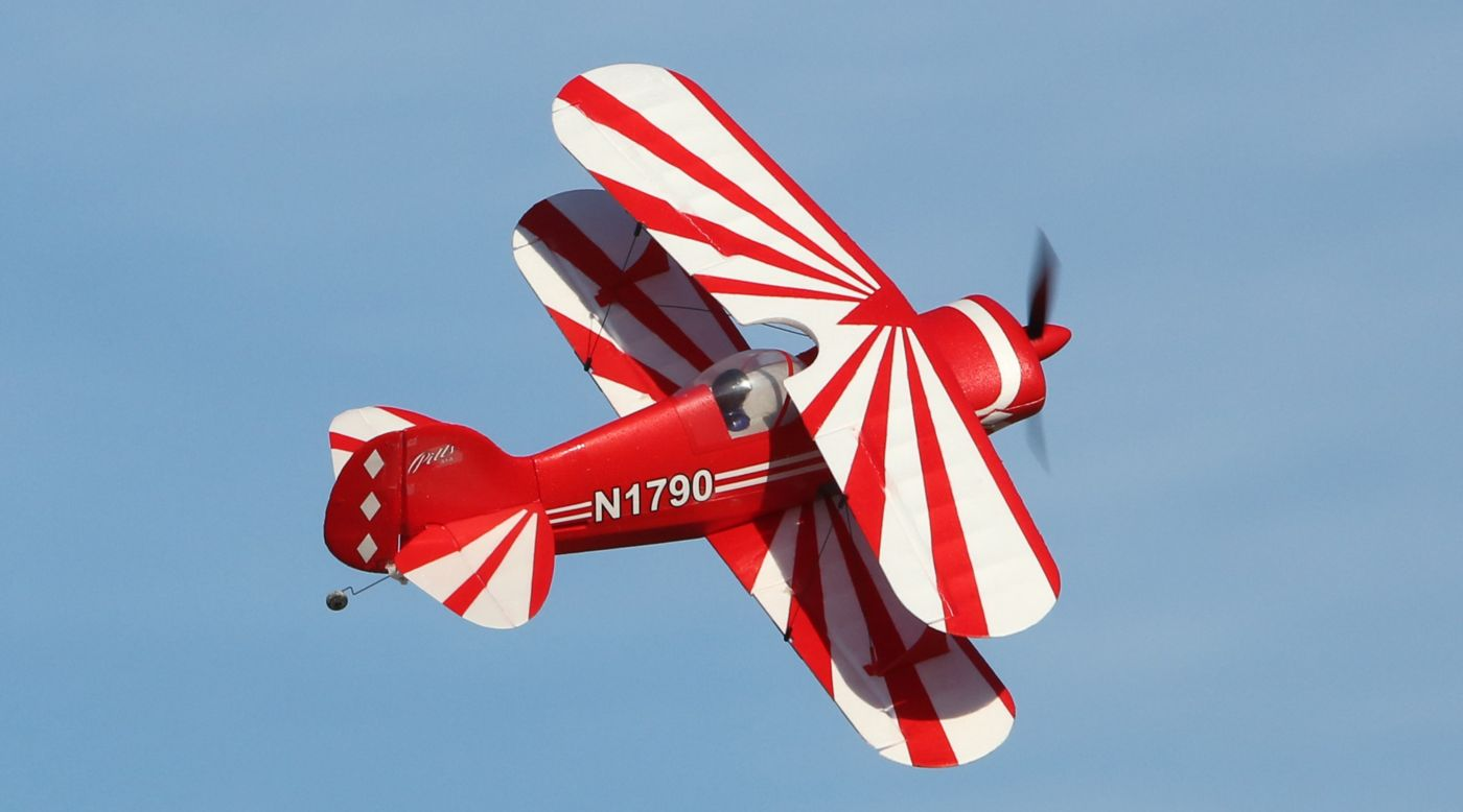 E Flite Umx Pitts S 1s Bnf Basic Rc Airplane With As3x