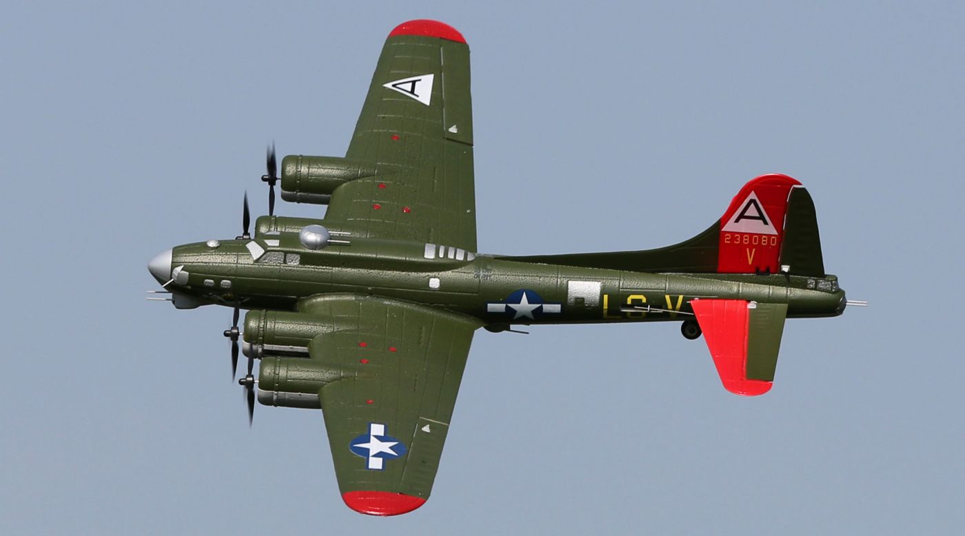 RC Airplane UMX B-17G Flying Fortress BNF with AS3X ...