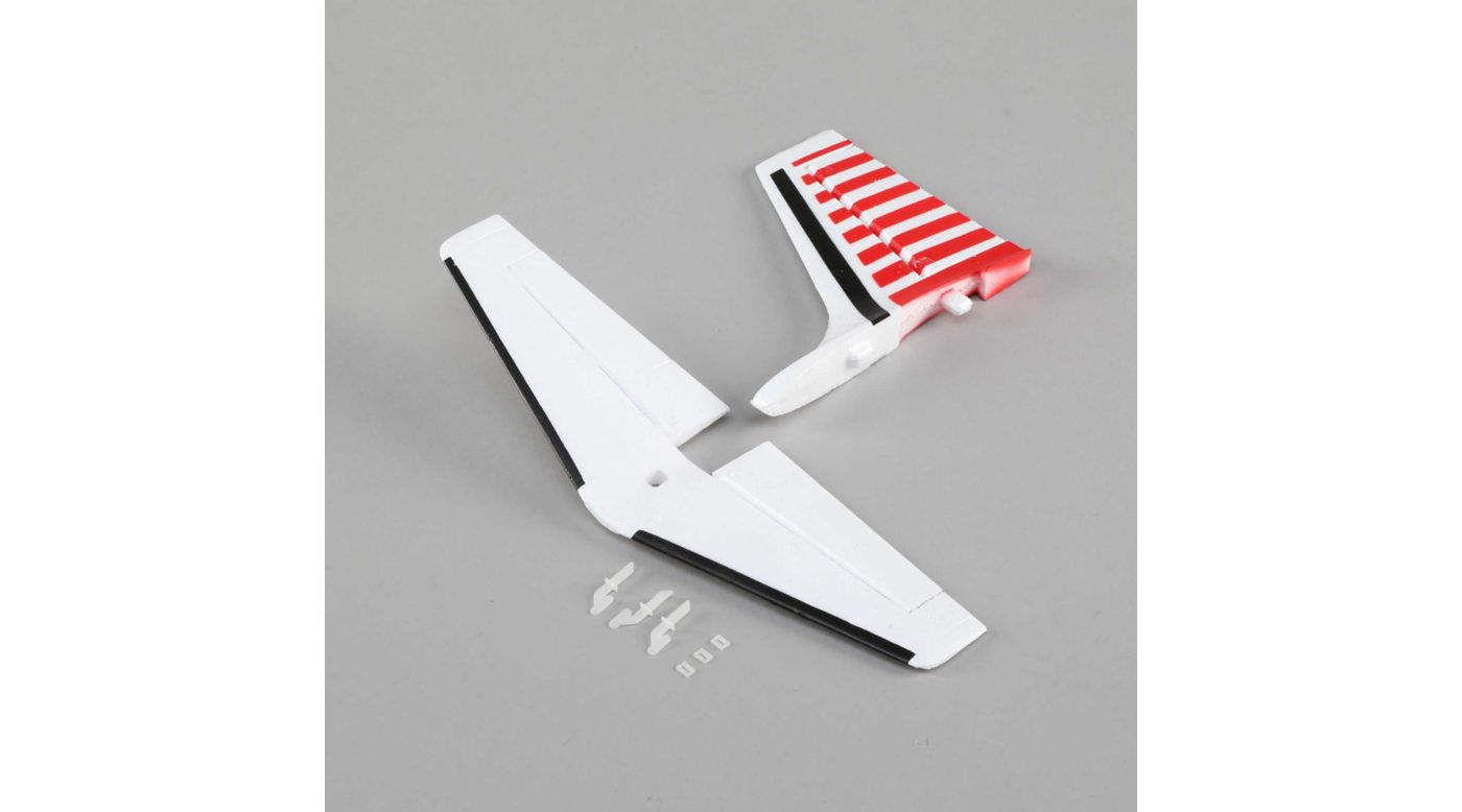Image for Tail Set: UMX Aero Commander from HorizonHobby
