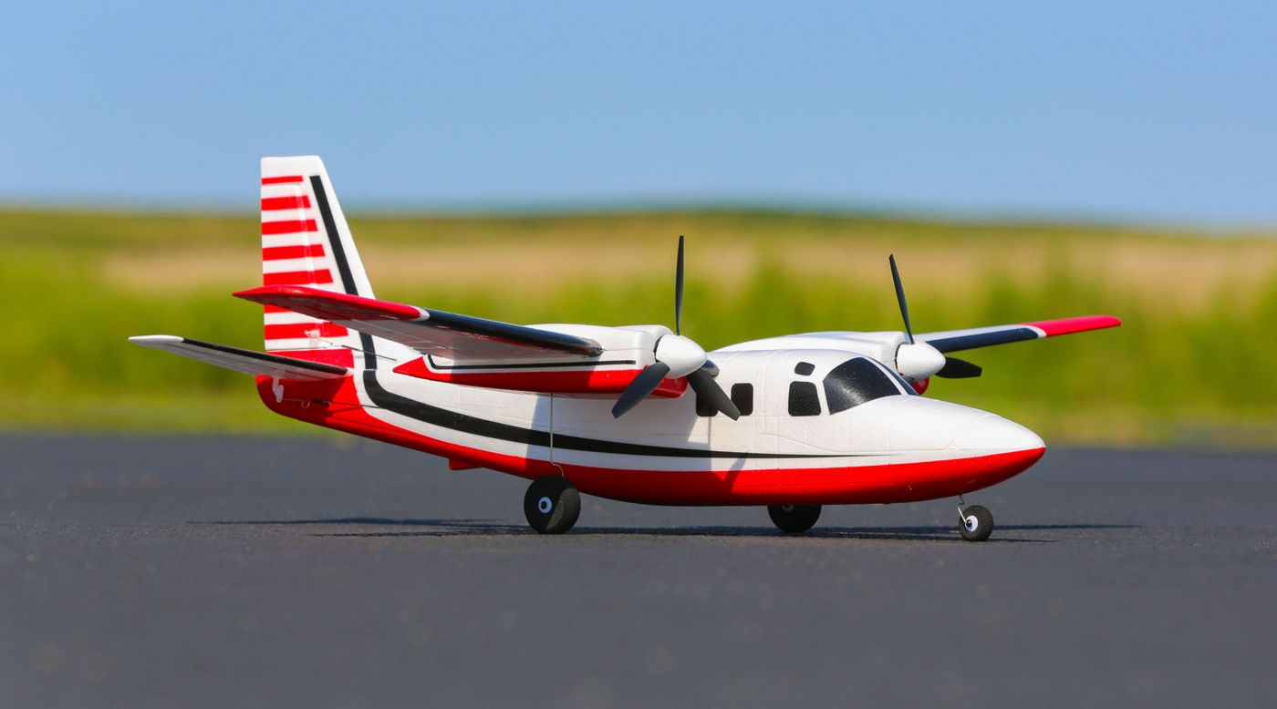 Image for UMX Aero Commander BNF Basic with AS3X from HorizonHobby