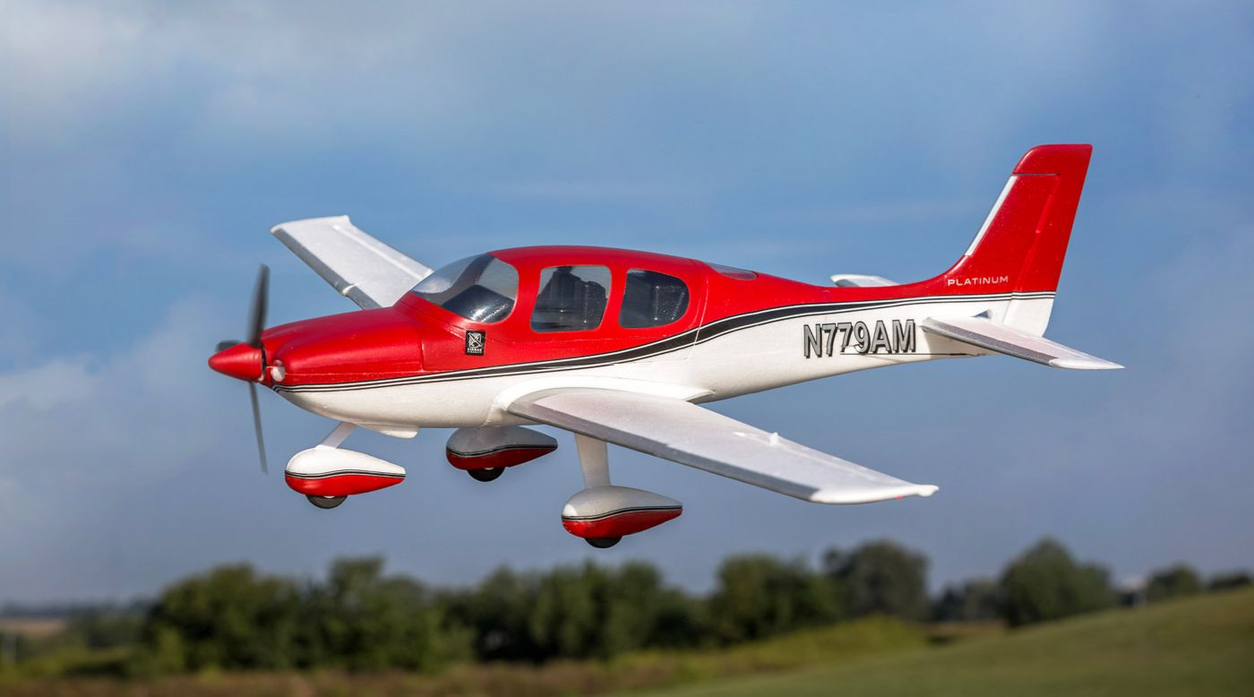 Image for UMX Cirrus SR22T BNF Basic with AS3X and SAFE Select from HorizonHobby