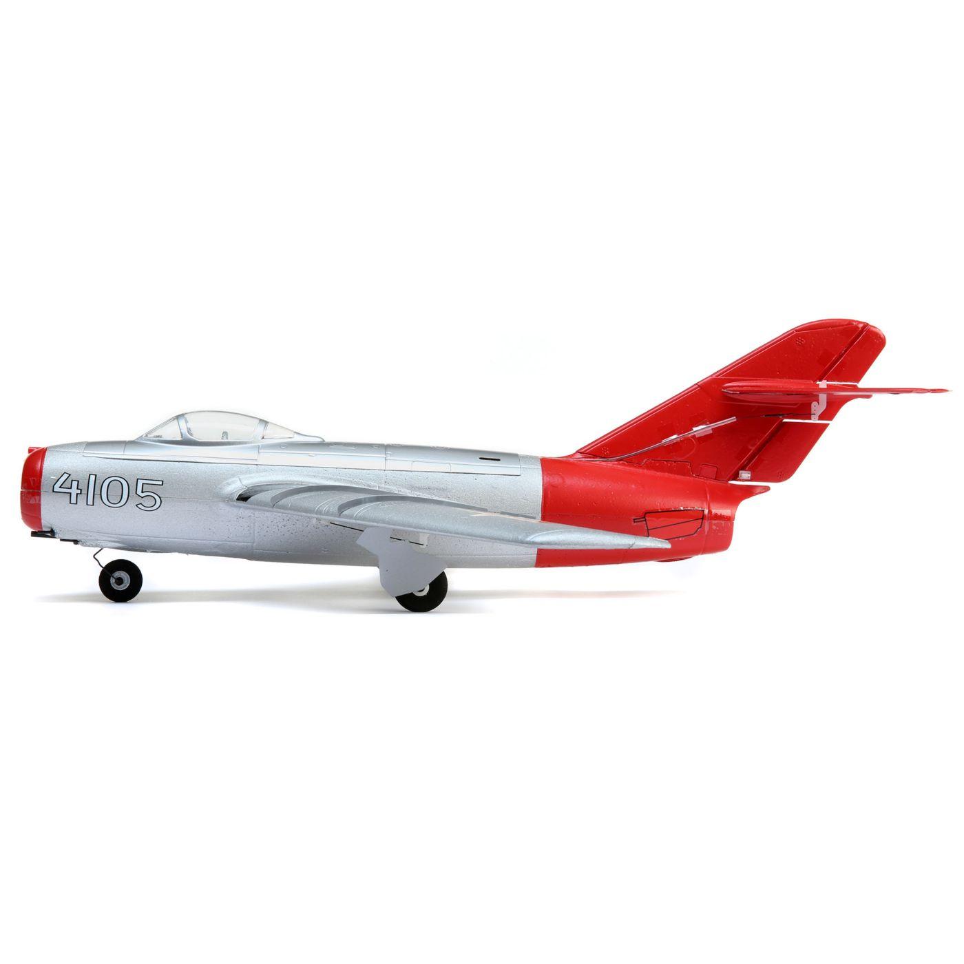 E-flite UMX MiG-15 28mm EDF Jet BNF Basic Ultra Micro WWII Scale