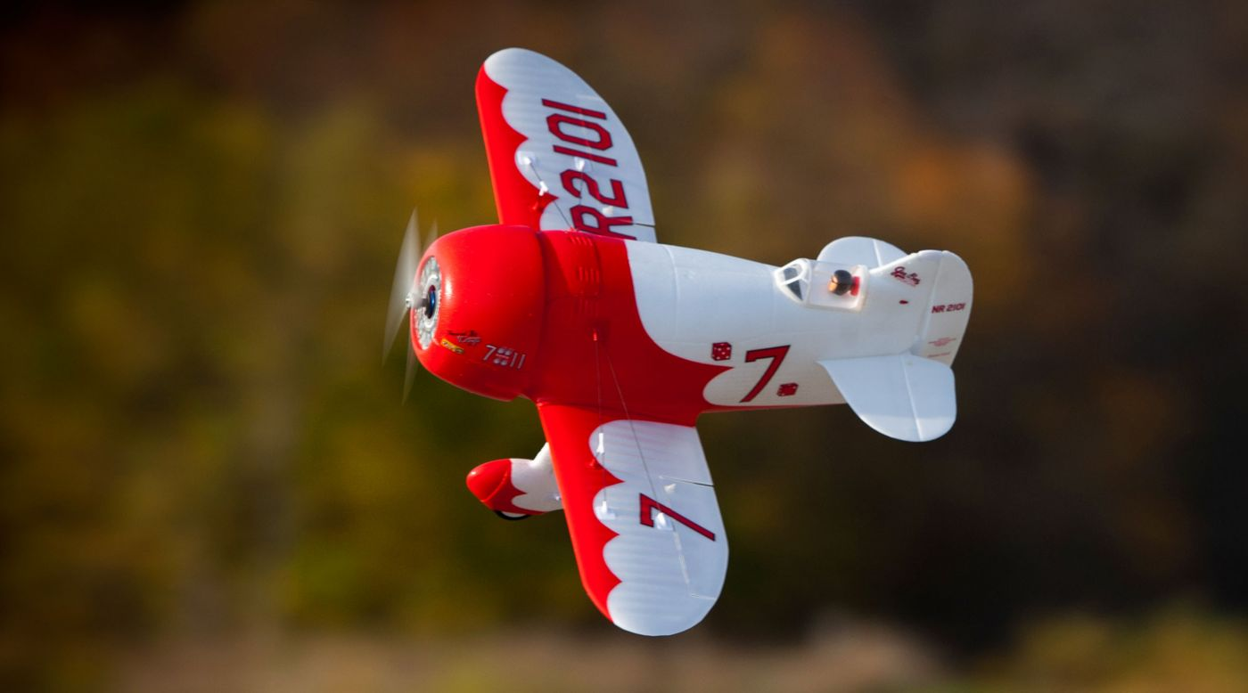 Image for UMX Gee Bee R-2 BNF Basic with AS3X and SAFE Select from HorizonHobby