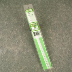"Evergreen 103 Styrene Strip .010"" Thick 14"" Long Pkg 10 x .060"""