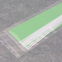 "Evergreen 104 Styrene Strip .010"" Thick 14"" Long Pkg 10 x. 080"""