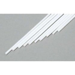 "Evergreen 210 Styrene Rod .030"" Diameter Pkg 10"