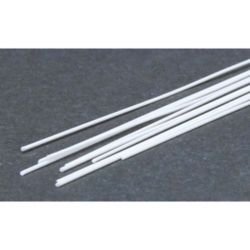 "Evergreen 218 Styrene Rod .020"" Diameter Pkg 10"