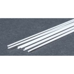"Evergreen 219 Styrene Rod .025"" Diameter Pkg 10"