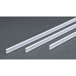 "Evergreen 277 14"" Styrene I-Beam .250"" Tall Pkg 3"