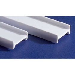 "Evergreen 279 14"" Styrene I-Beam .375"" Tall Pkg 2"